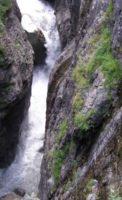 Домбай Аманаузское ущелье каньон Чертова мельница