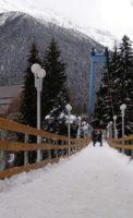 Домбай подвесной мост