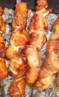 Кавказское угощение шашлык